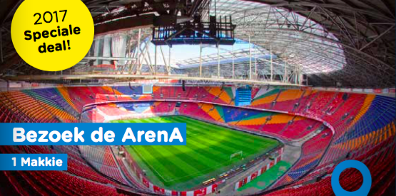 Tour in Amsterdam Arena – 1 Makkie